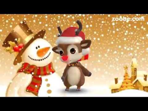 ZOOBE зайка Поздравление С Рождеством ! - Как поздравить с Днем Рождения