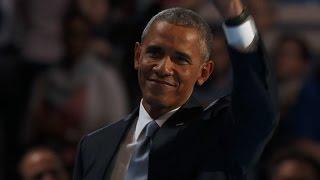 Barack Obama's entire Democratic convention speech thumbnail