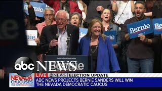 Gambar cover Bernie Sanders projected to win Nevada caucus