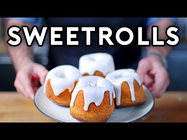 Binging with Babish: Sweetrolls from Skyrim