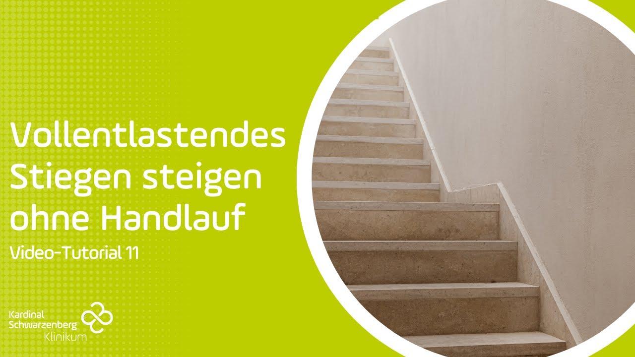Ohne belastung treppensteigen mit krücken tertmocartu: Treppensteigen