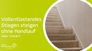 Gehen krücken treppen ohne belastung mit Treppen Gehen