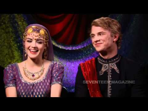 Exclusive  with Lucy Hale and Freddie Stroma, from A Cinderella Story: Once Upon a !