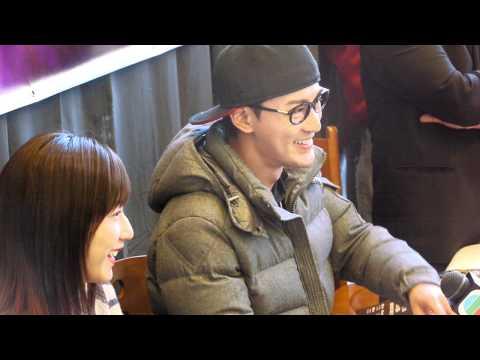 Raymond Lam 林峯 & Linda Chung 鍾嘉欣 Press Conference