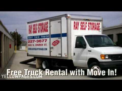 North Carolina Triad Storage Units Ray Mini Storage