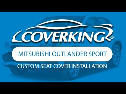 How to Install 2014-2017 Mitsubishi Outlander Sport Custom Seat Covers| COVERKING®