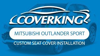 How to Install 2014-2017 Mitsubishi Outlander Sport Custom Seat Covers