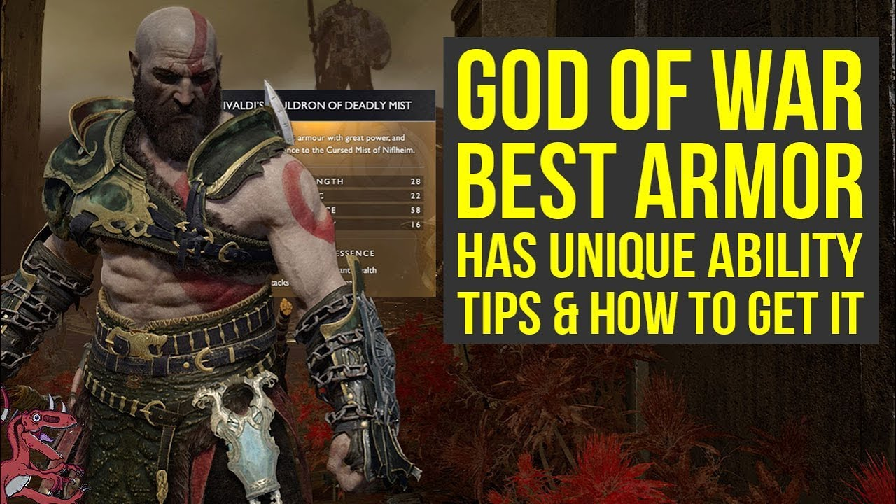 God of War Best Armor From Niflheim Has An Unique Ability - MIST SET (God  of War 4 Best Armor)