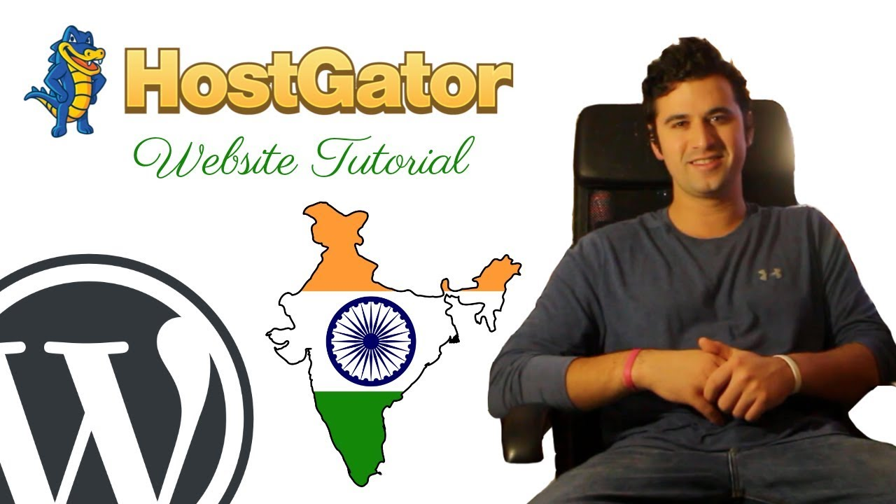 HOW TO MAKE A WORDPRESS WEBSITE AT HOSTGATOR INDIA-2019