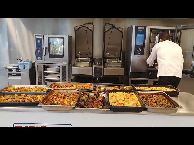 Един работен ден в #супермаркет #кулинарен #магазин с помощта на #iCombiPro от #Rational и #Вера94