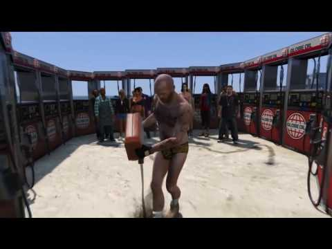 GTA 5 Browsing cheat level Caution !! Awesome death collection that screams live players