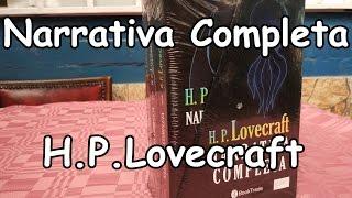 Narrativa Completa H.P. Lovecraft - Unboxing en español