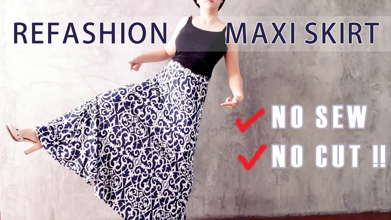 how to make a dress look shorter without cutting it