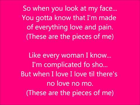 Ledisi- Pieces of Me w/Lyrics