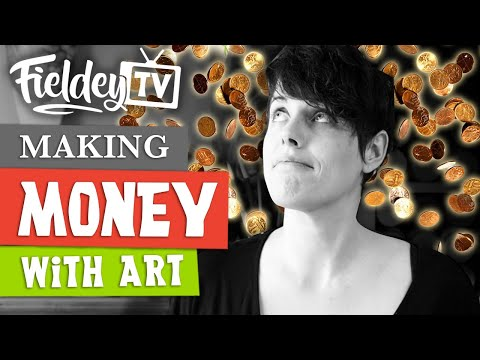 Making money with art - is it easy and how do you do it? | Artist Insider Vlog 04