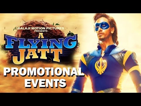 A Flying Jatt Movie Promotional Events |...