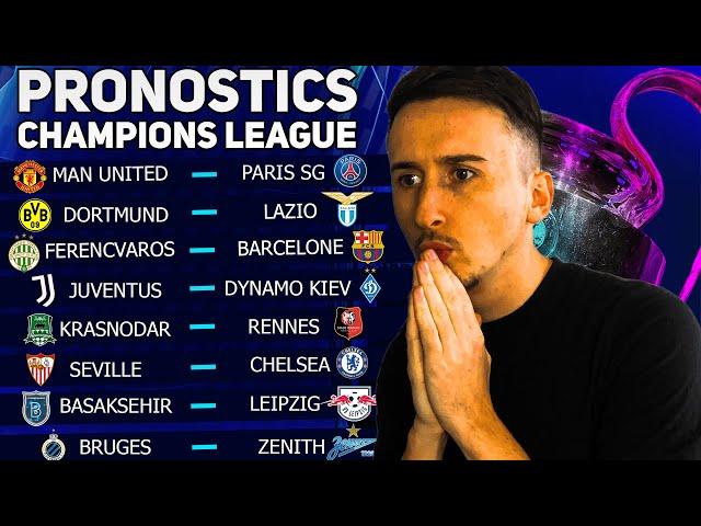 PRONOSTICS FOOT : Mes 8 pronostics Ligue des Champions (Man United - PSG)
