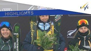 Highlights | Sildaru storms to win in Ski Slopestyle at WGNZ | FIS Freeski
