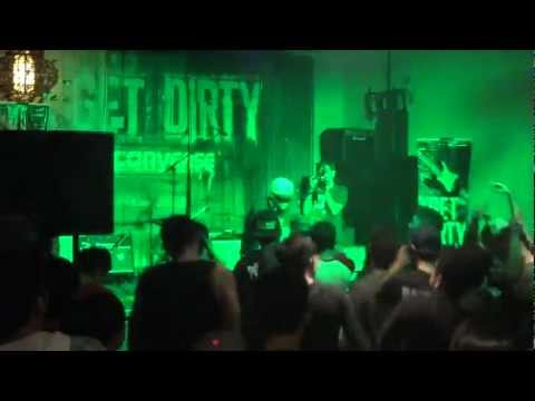 DJ Nas-T - Live at Converse: Get Dirty Gig
