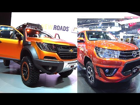 2017, 2018 Chevrolet Colorado Xtreme VS 2016, 2017 Toyota ...