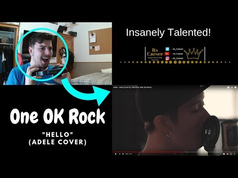 Adele - Hello (Cover By Taka From ONE OK ROCK) || MY REACTION!!!