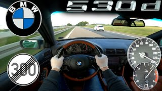 BMW E39 530d INDIVIDUAL TOP SPEED NO LIMIT AUTOBAHN GERMANY
