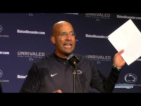 Penn State Nittany Lions Football - James Franklin postgame press conference