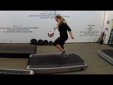 FRE FLO DO : Fútbol/Soccer Pros Ashley Nick & Lianne Sanderson off-season training