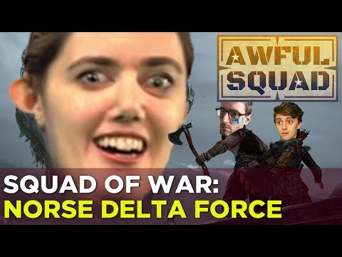 AWFUL SQUAD — Russ, Simone, Brian, and Griffin are SQUAD OF WAR