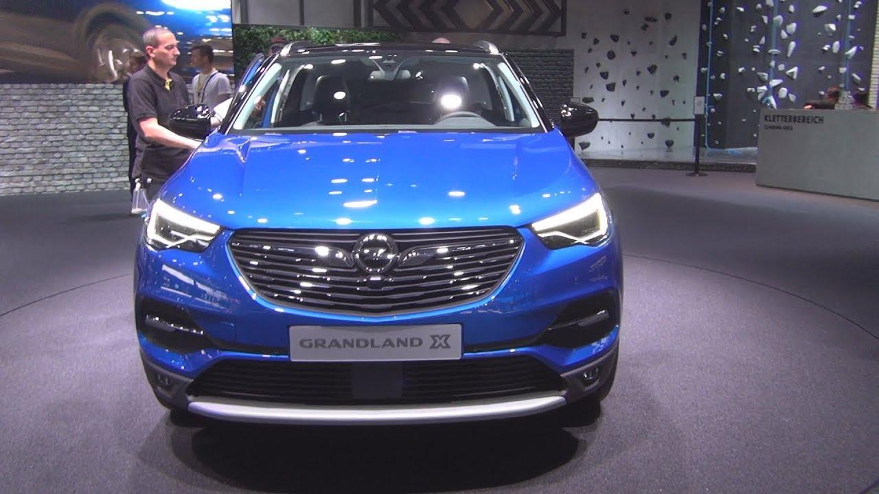 Opel grandland x 2018 exterior and interior youtube for Interior opel grandland x