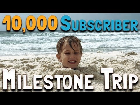 10,000 Subscriber Milestone Trip (Day 2): The Beach, the Pool, & the Beach AGAIN (February 24, 2018)