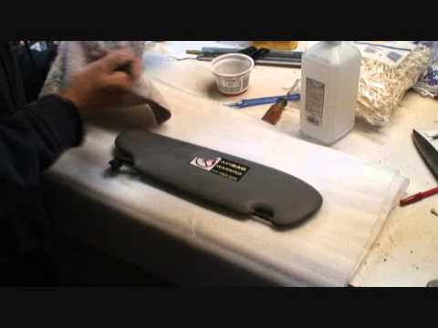 How to remove a Decal...From a Porsche Vinyl Sunvisor - YouTube 5011afe82e7
