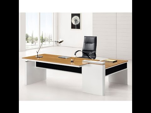 M218 Executive Desk Assembly