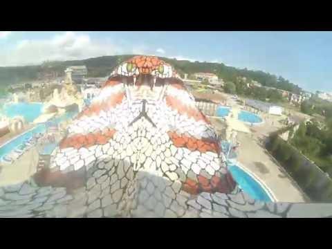 Аквапарк Джубга 2016 | Тест горок