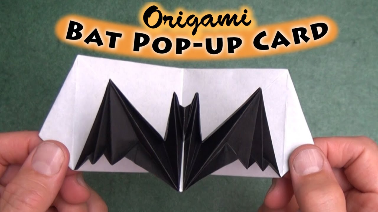 Origami Birthday Cards Instructions