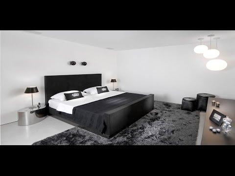 Черно-белая спальня (30 фото)