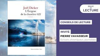 Envie de lecture – Emission de février 2021. Rencontre avec Pierre Vavasseur