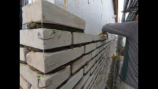 고벽돌시공과정-벽돌철물시공부터 발수제도포까지/진주시 충…