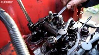 Tractor T-25 - Valve Adjustment (1080p)
