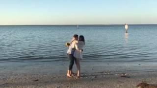 Kirk +Rebecca Beach Session