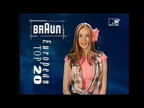 MTV European Top 20 1993 August