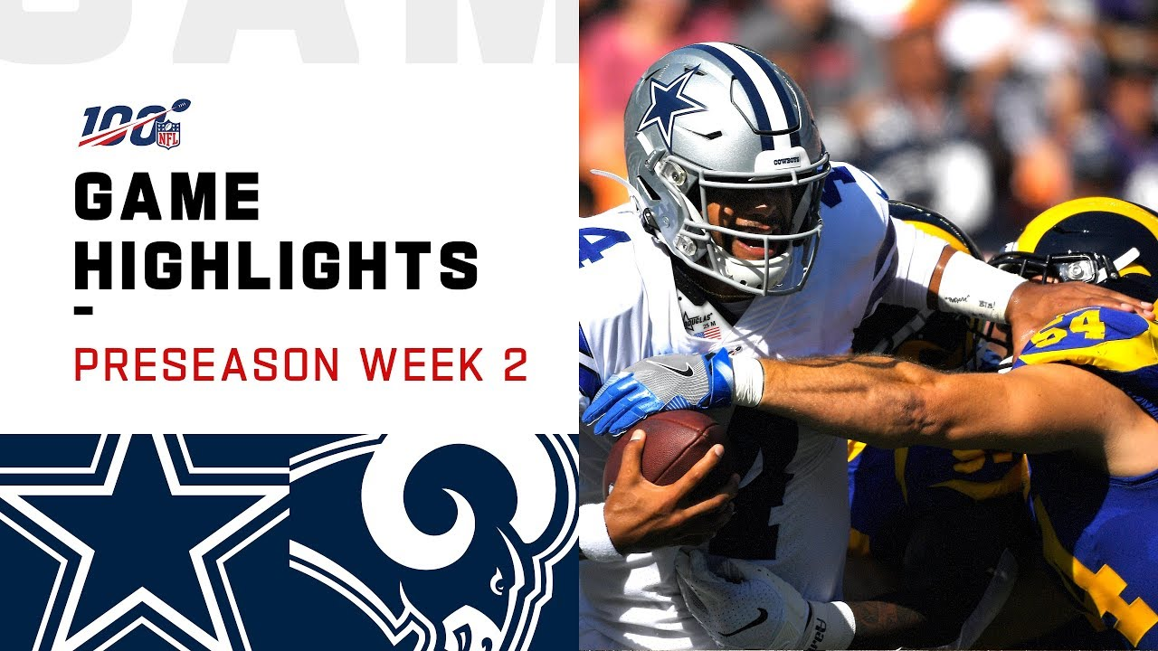 Watch highlights from Rams vs. Cowboys in preseason Week 2