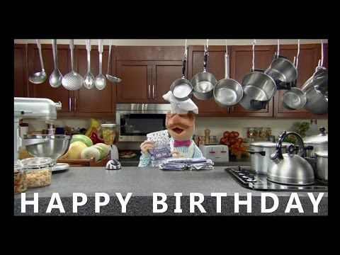 Happy Birthday from the Swedish Chef