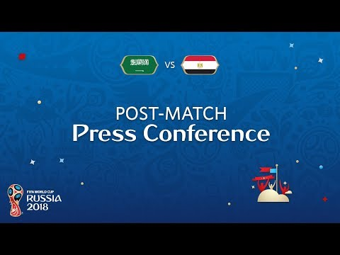 FIFA World Cup™ 2018: Saudi Arabia v. Egypt - Post-Match Press Conference