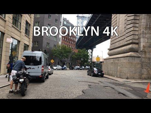 New York City 4K - Downtown Brooklyn - USA