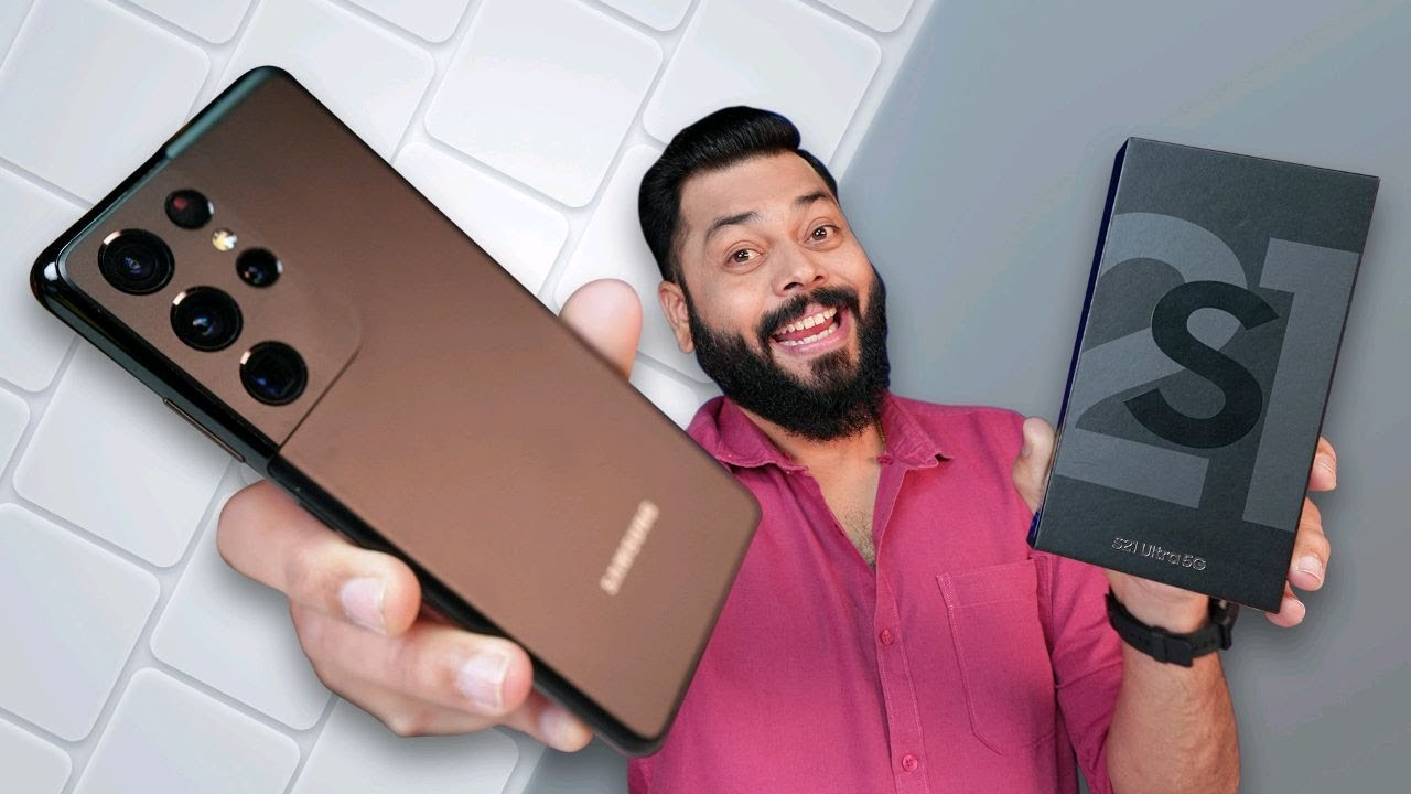 Samsung Galaxy S21 Ultra 5G Unboxing & First Impressions ⚡ The Ultra Flagship Of 2021