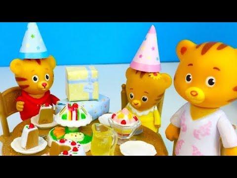 DANIEL TIGER Toys Family Birthday Party CELEBRATION!