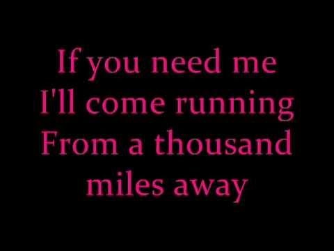 U Smile - Justin Bieber with lyrics
