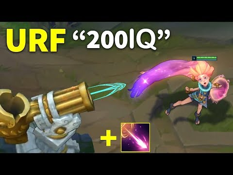 10 Minutes of 'Best URF Fun Moments' in LOL