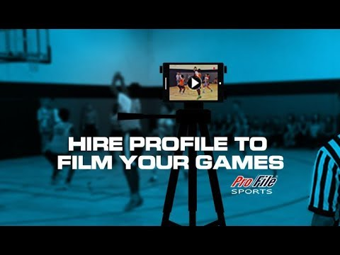 Hire ProFile Sports to Video Record or Livestream Your Next Game